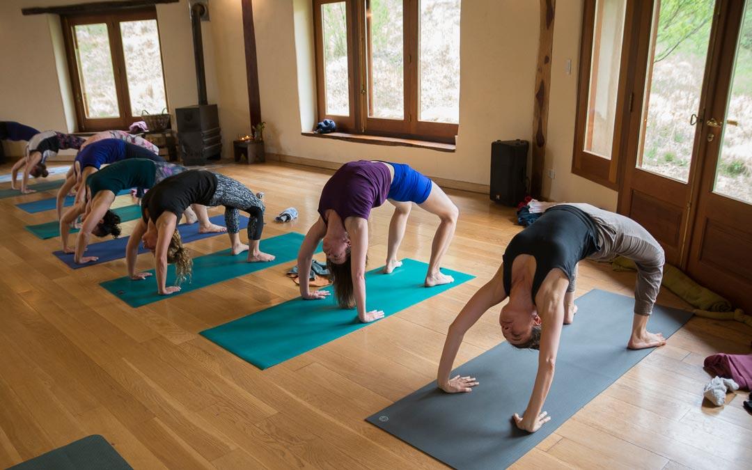 Yoga y Sierras